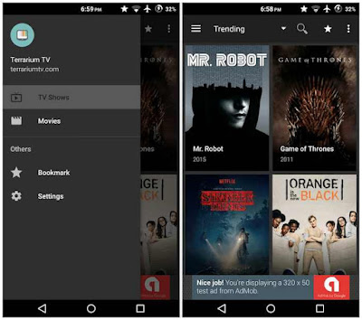 Terrarium tv premium patched for android