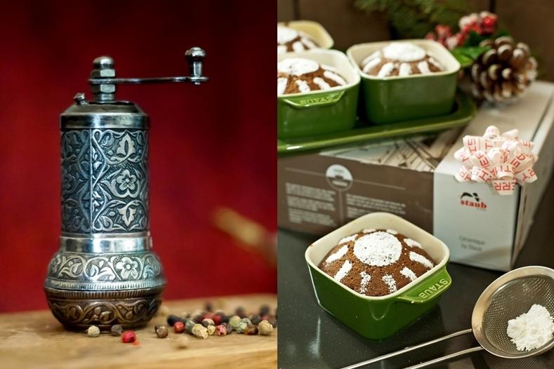 Akcesoria i naczynia kuchenne na prezent - młynek do przypraw i zestaw do przystawek
