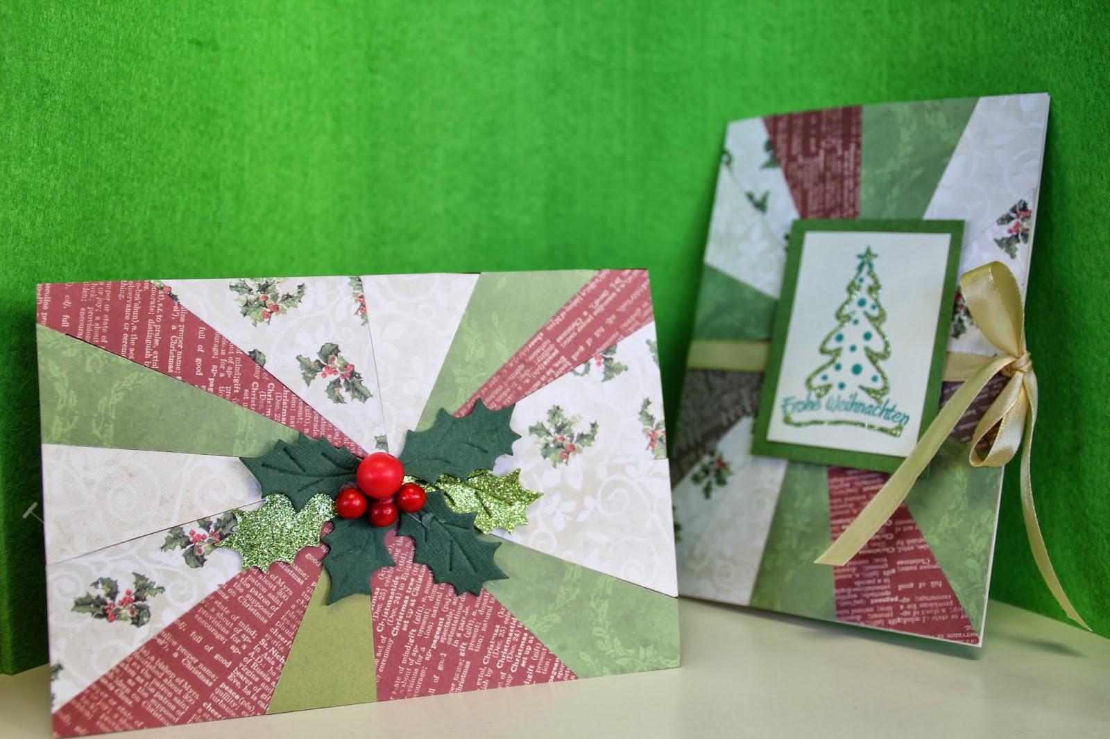 ideenreich elz kreative puzzelei f r weihnachtskarten. Black Bedroom Furniture Sets. Home Design Ideas