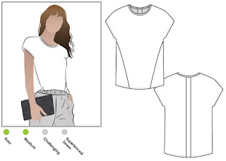 Creates Sew Slow: StyleArc Besharl Knit Tee