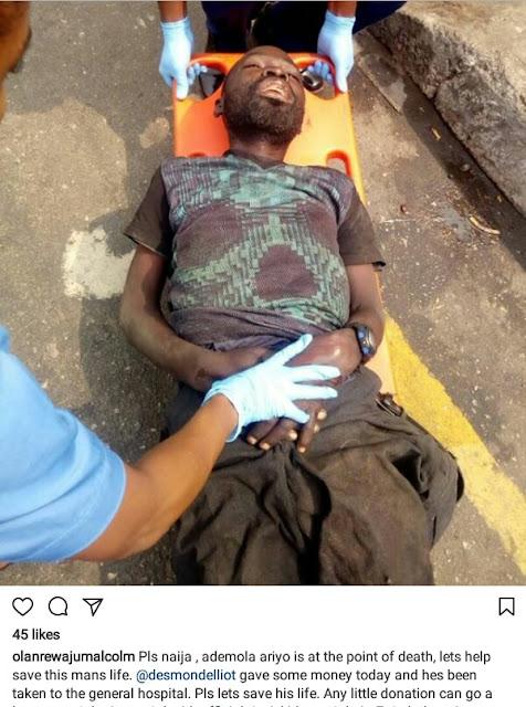 Photos: Nigerian cinematographer, Ademola Ariyo who shot Osuofia in London, Blood Money, dies in abject poverty from kidney failure