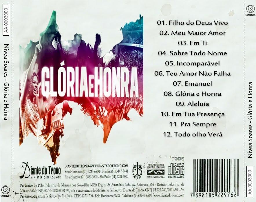 E DE BAIXAR GLORIA CD HONRA NIVEA SOARES