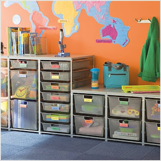 Metal Mesh Drawers for Bookcases are Good Too
