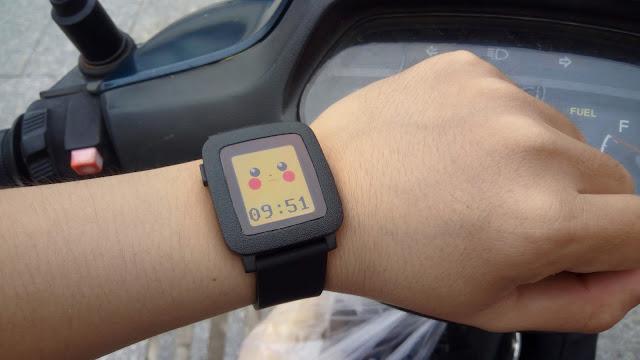 Đánh giá Pebble Time