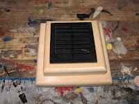 Test fit with solar panel