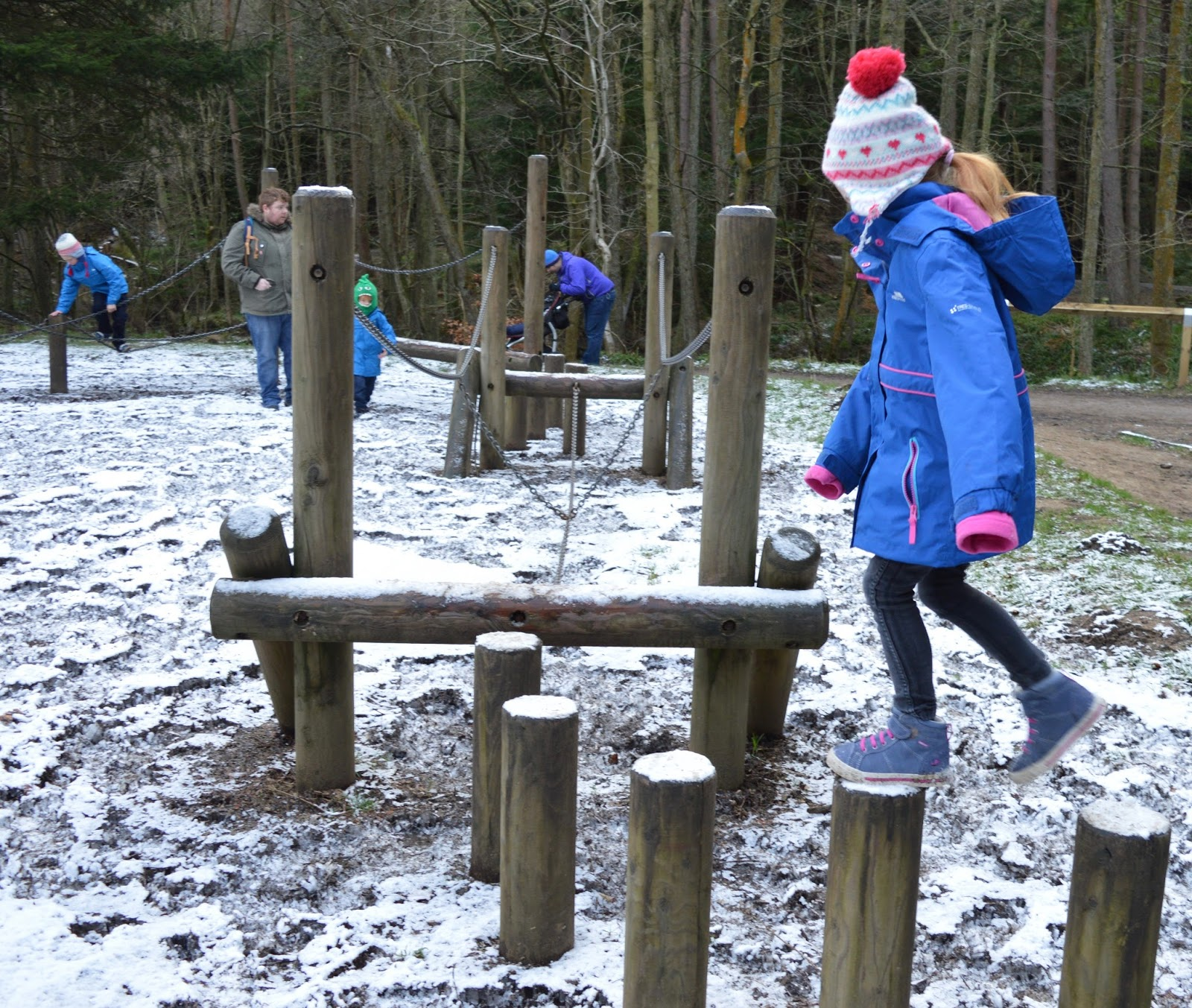 Why you should choose a real, sustainable Christmas tree from a Forestry Commission Forest (Hamsterley Forest in Durham and Kielder Forest in Northumberland) - Hamsterley Forest Play Area