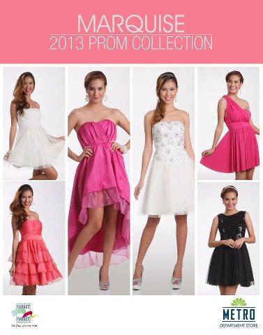 Manila Shopper: Metro Department Stores Prom 2013 Collection