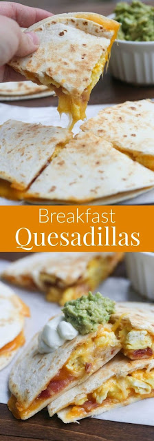 Breakfast Quesadíllas