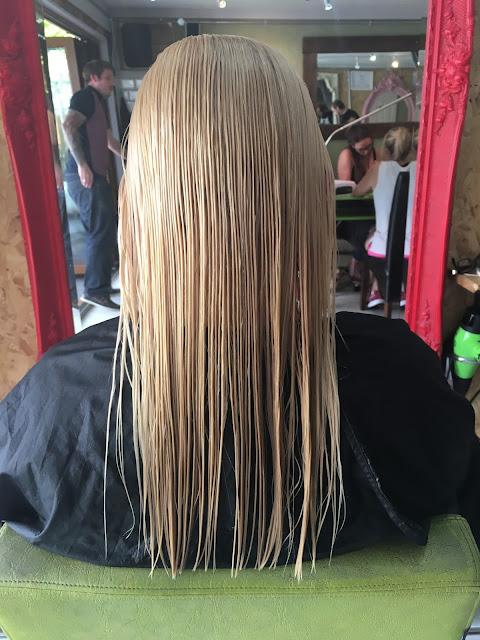 Blonde Haircut