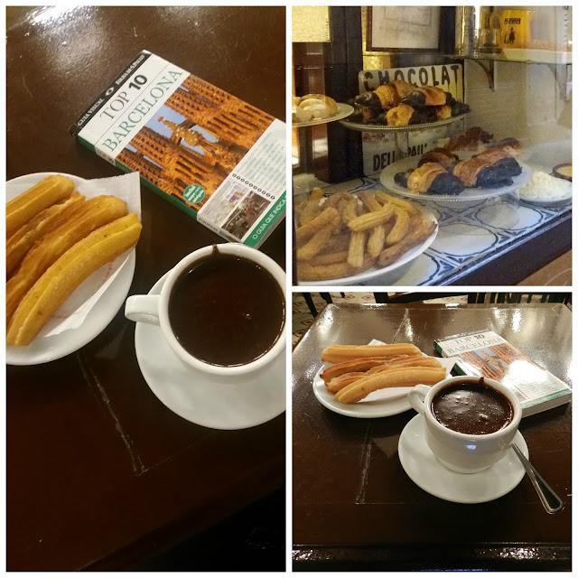 O que e onde comer em Barcelona - Granja Dulcinea