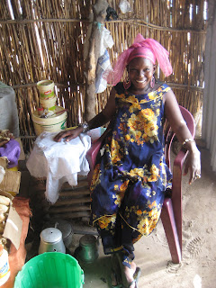 Adji Diaw runs her own restaurant in Keur Sanou, Senegal.