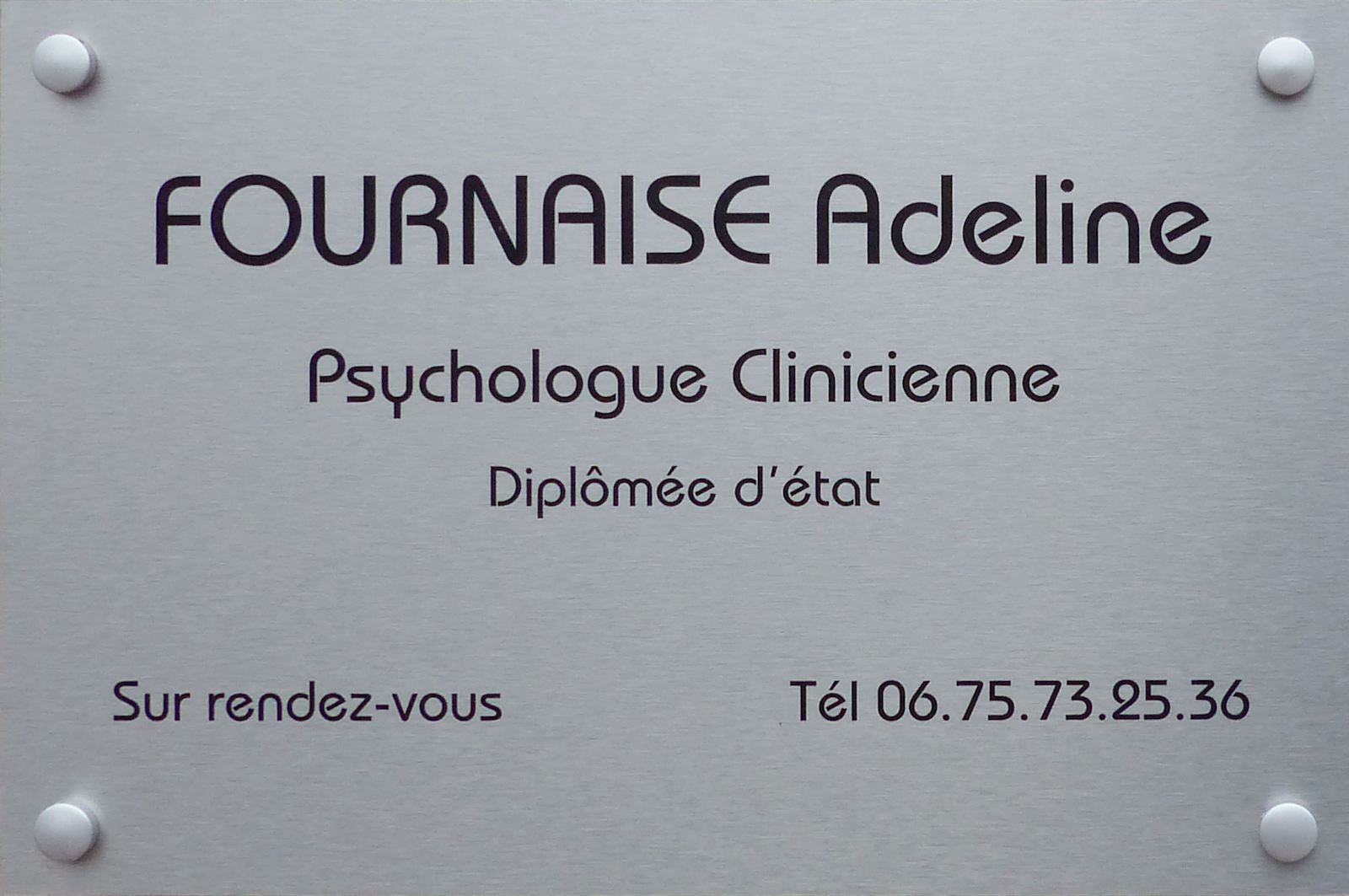 Psychologue clinicienne Tourcoing - Adeline Fournaise.