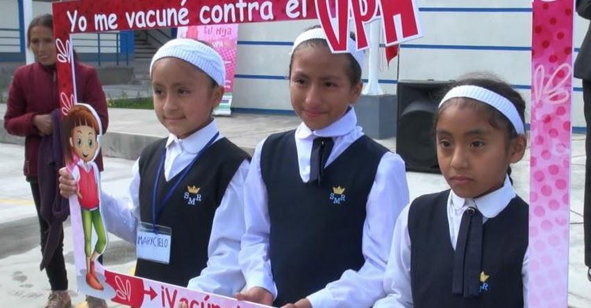 DIRESA Junín lanza campaña de vacunación para prevenir cáncer de cuello uterino