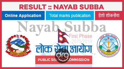 Result Of NAYAB SUBBA (Na Su) | First Phase/Paper | Written