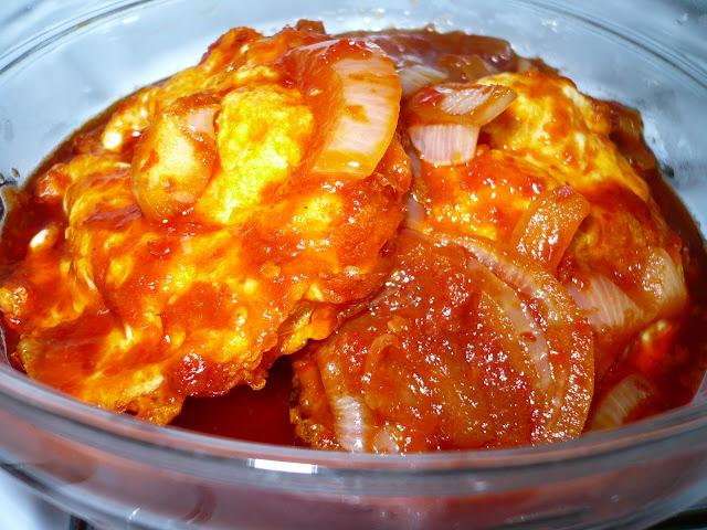 Resepi Telur Goreng Masak Merah Ringkas