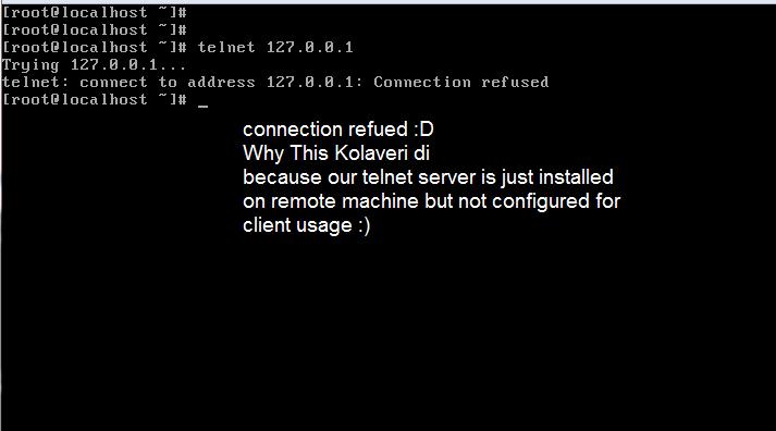 Installing Telnet server in linux(centOS) | Start With Linux