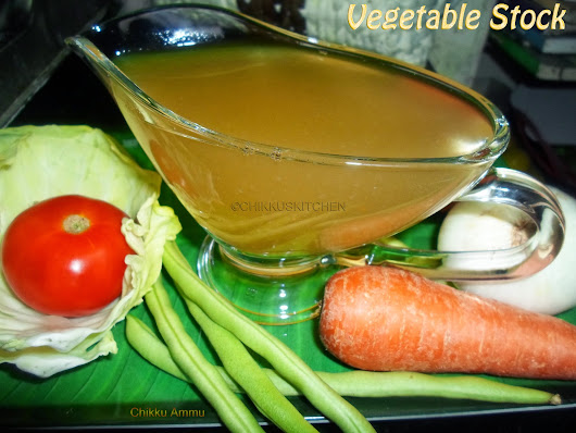 Vegetable Stock Recipe / How to prepare Homemade Vegetable Stock / Homemade Vegetable Stock