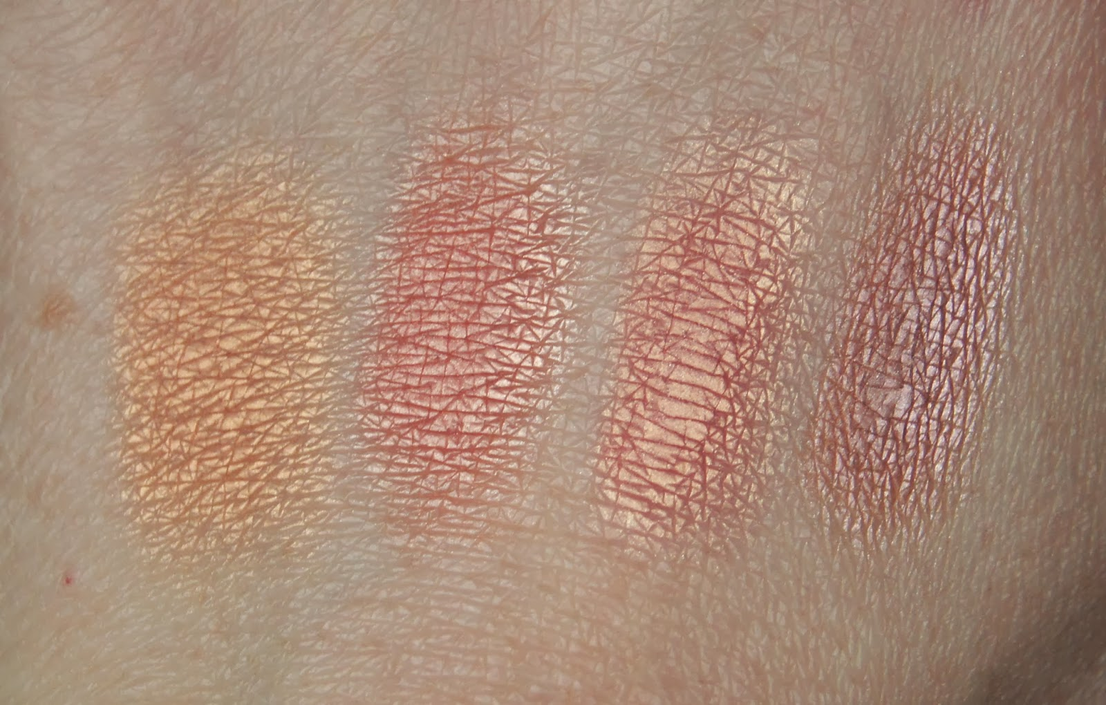 benefit sugar bomb box powder blush individual swatches