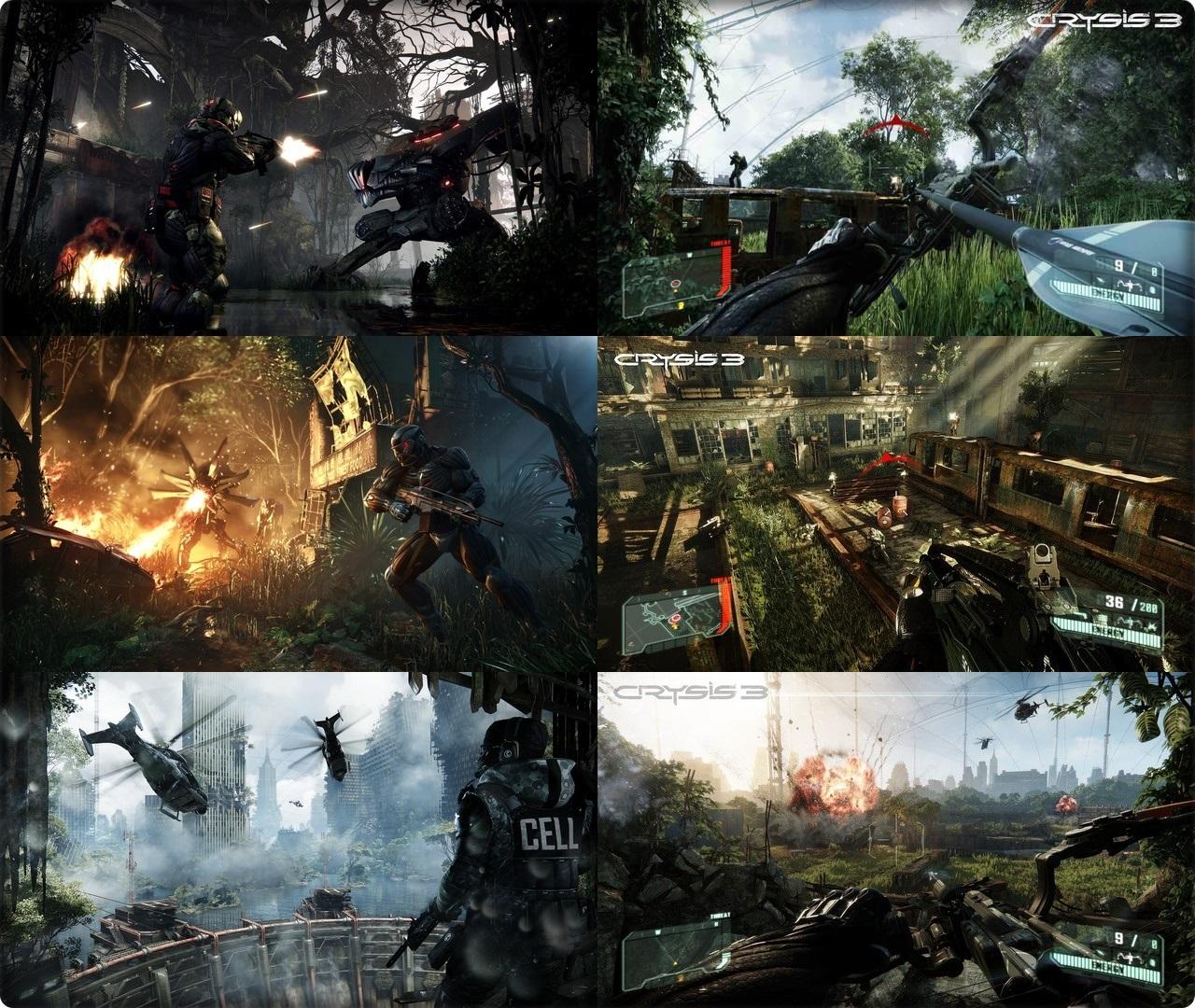 โหลดเกม Crysis 3