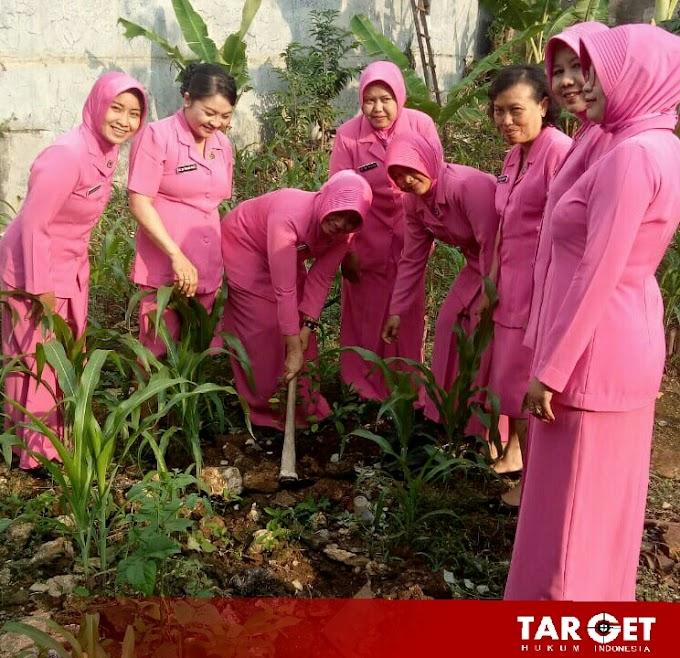 Gerakan Tanam Pohon Bhayangkari Polsek Sukolilo, Tanam Seribu Pohon