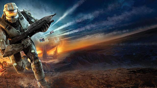 Halo 5 Spartan en Fuite - Fond d'écran en Full HD