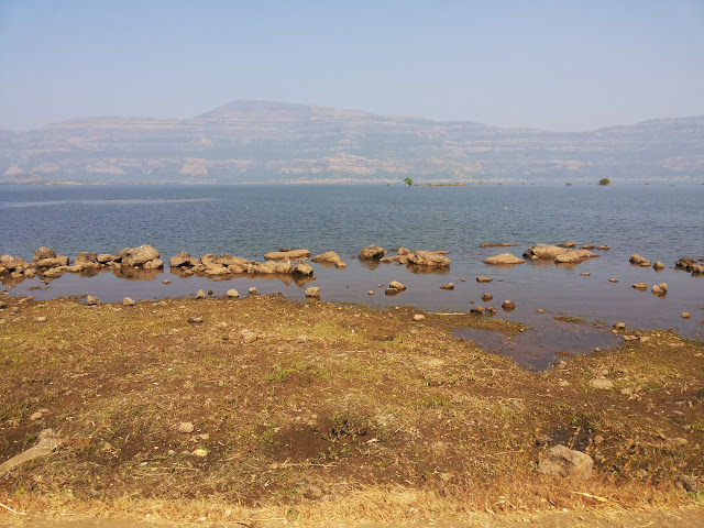 Pimpamgaon Dam on the way to Malshej Ghat