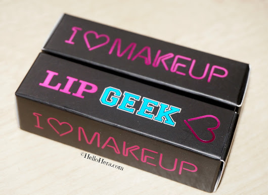 Yay Or Nay: I ♡ Makeup Lip Geek (Lipsticks) Review