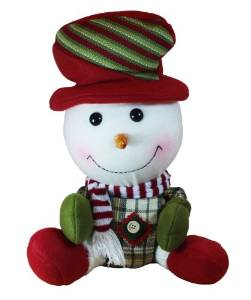 Happy Snowman Christmas Decorations