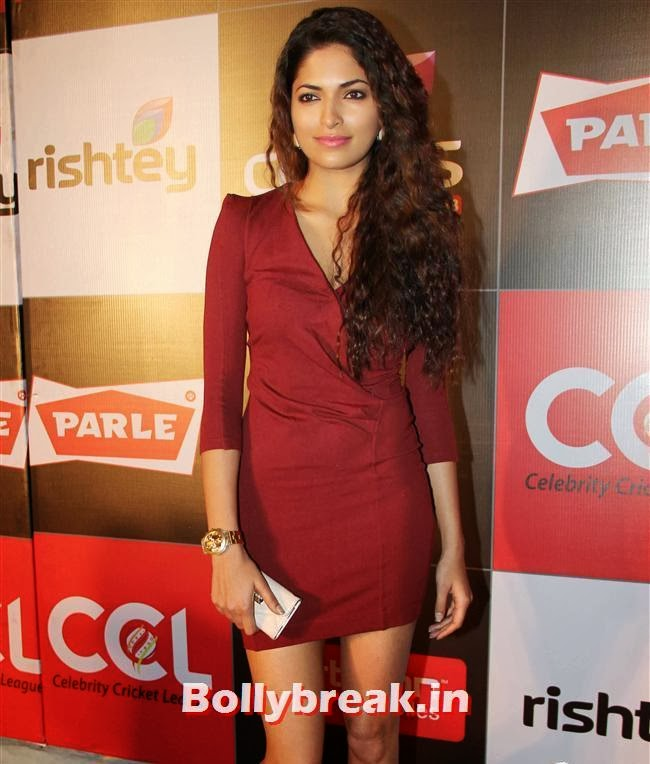 Parvathy Omanakuttan, Hot Celebs Grace the Celebrity Cricket League 4 Press Meet