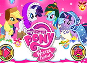 My Little Pony Winter Fashion juego
