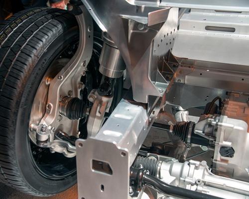 Faraday Future FF 91 electric car self drive 1050 horsepower