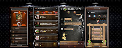 Download BBM Mod Dark Wood Themes