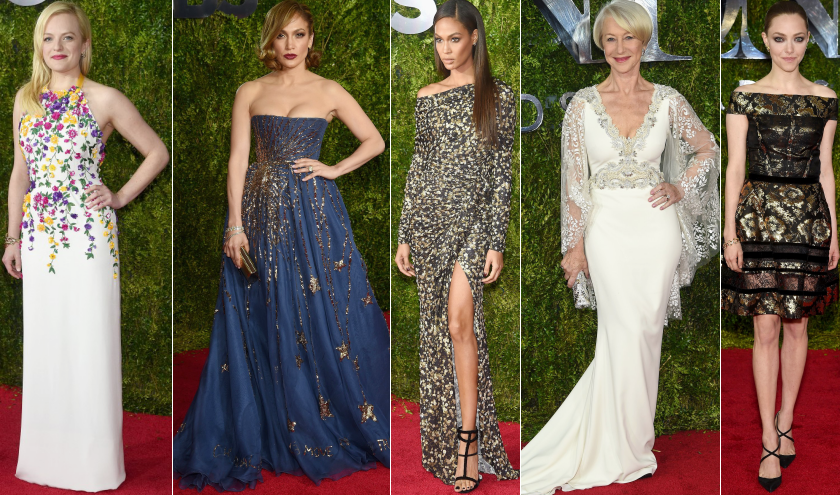 red carpet tony awards 2015 best dressed designers