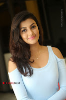 Anisha Ambrose Latest Pos Skirt at Fashion Designer Son of Ladies Tailor Movie Interview .COM 1095.JPG