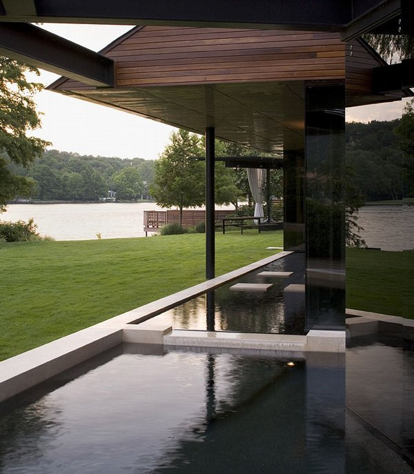 Luxury Lake Home Designs: My Living Room Design: Luxury Lake Home Design At Lake Edge