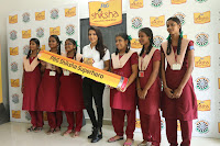 Actress Priya Anand in T Shirt with Students of Shiksha Movement Events 61.jpg