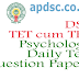 Avanigadda TET/DSC Psychology Daily Test Question Papers