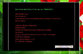 Download Hiren boot 15.2 tiếng Việt Full (File *.ISO)