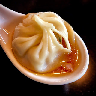 Xiao long bao at Din Tai Fung