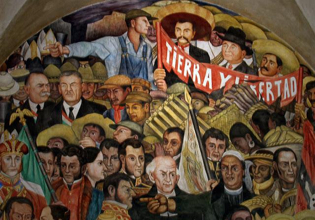 Image result for la revolucion mexicana en arte