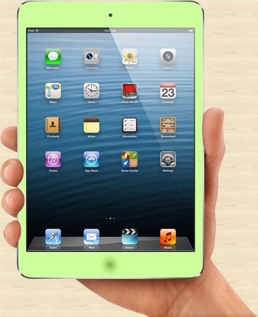 iPad mini new Green Colors