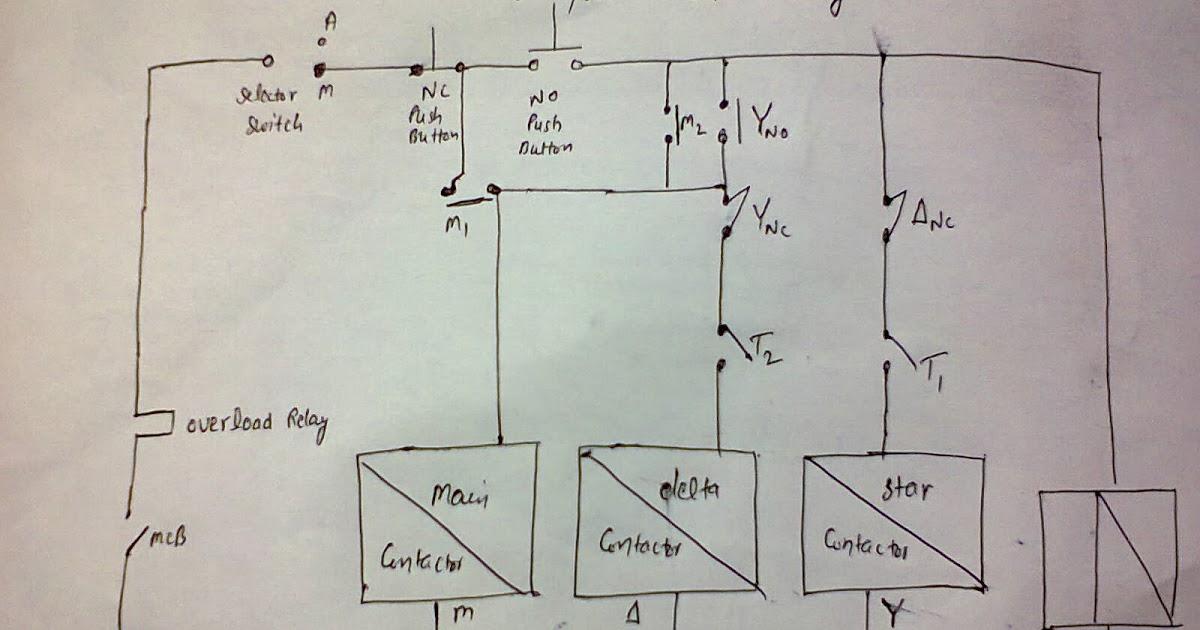 Alternator Wiring Diagram On Wiring Diagram Of Wye Delta Starter