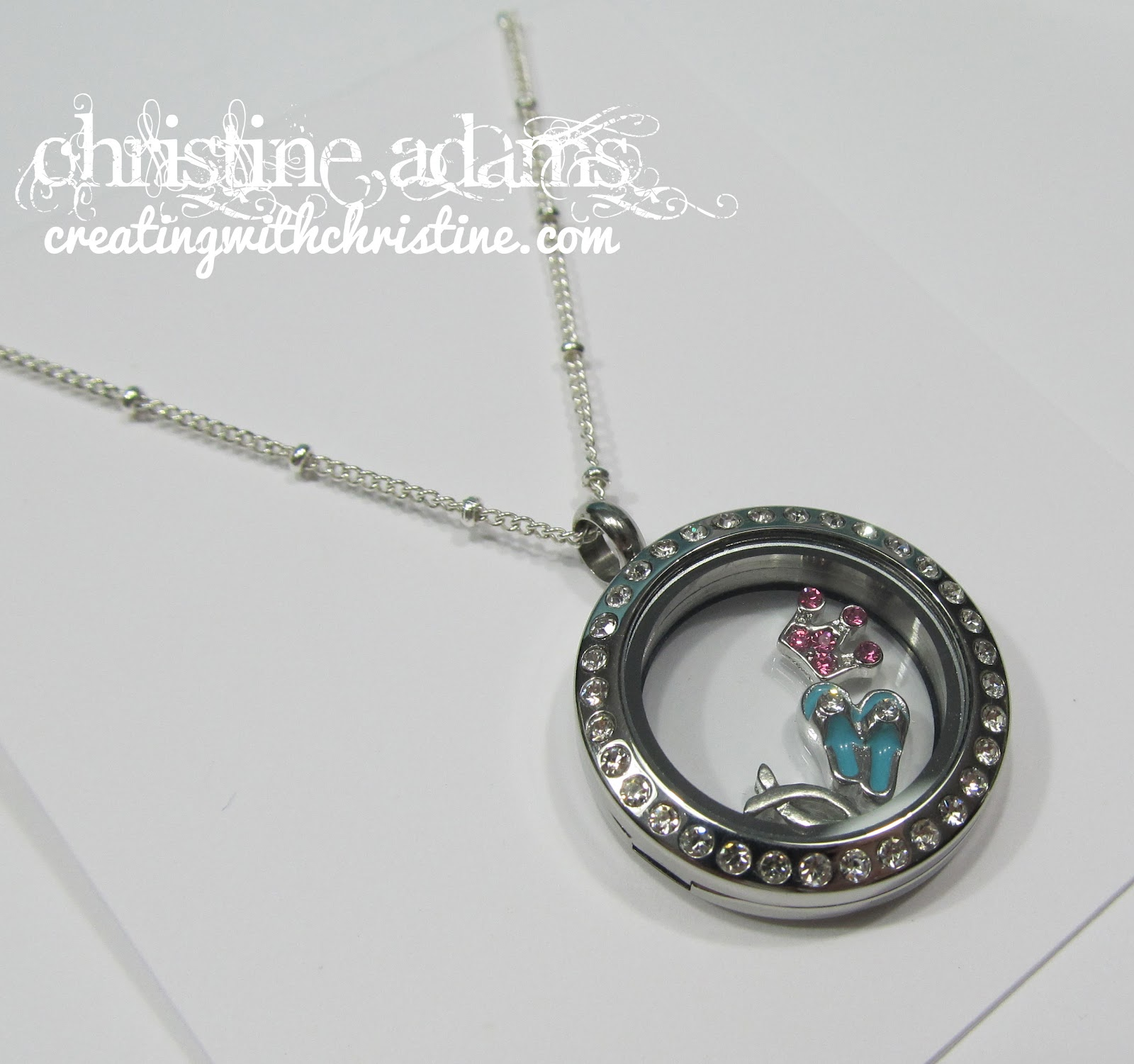 Creating with Christine: Origami Owl Living Lockets - photo#1
