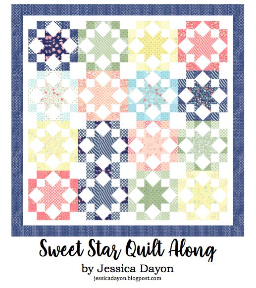Week 2 Sweet Star Quilt Along Make 4 Blocks