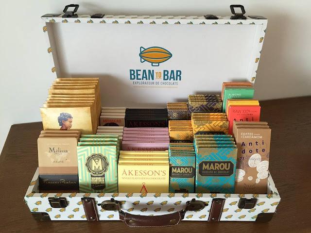 valise chocolats bean to bar