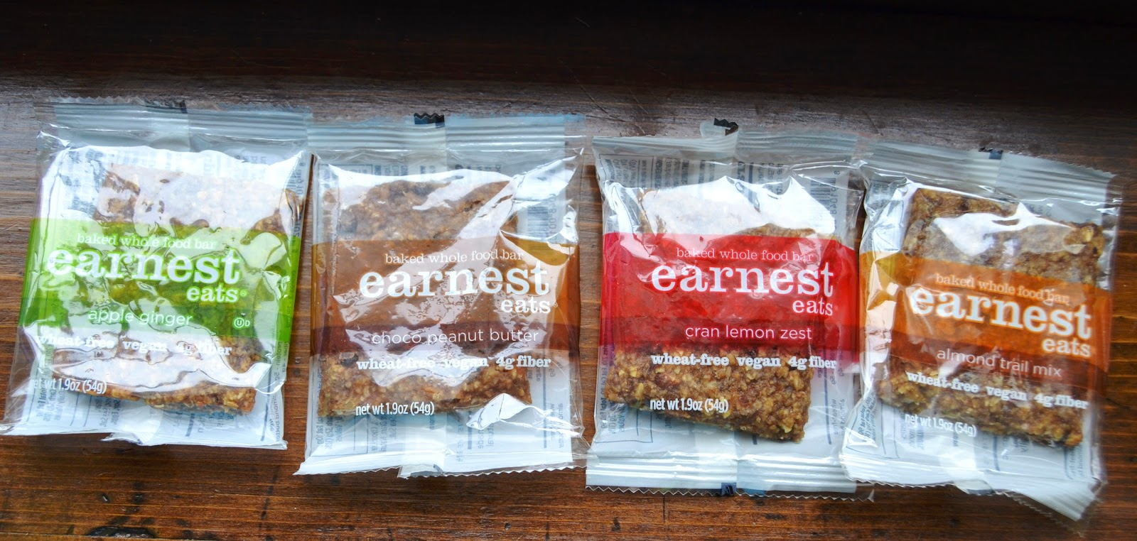 Earnest Eats baked bars