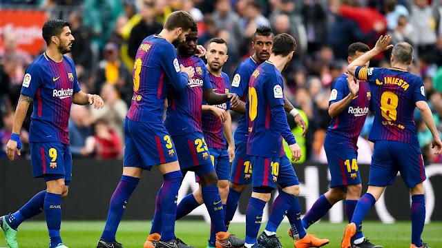 Barca thiết lập kỉ lục vô tiền khoáng hậu ở La Liga