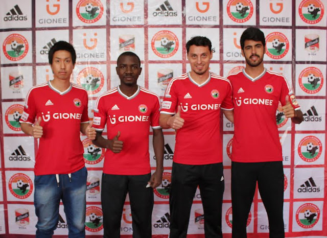 Shillong Lajong FC's four foreigners