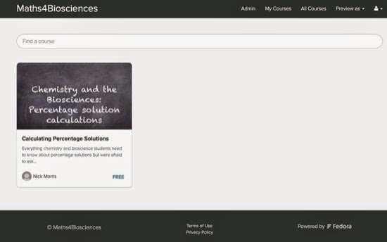 Maths4Biosciences Homepage