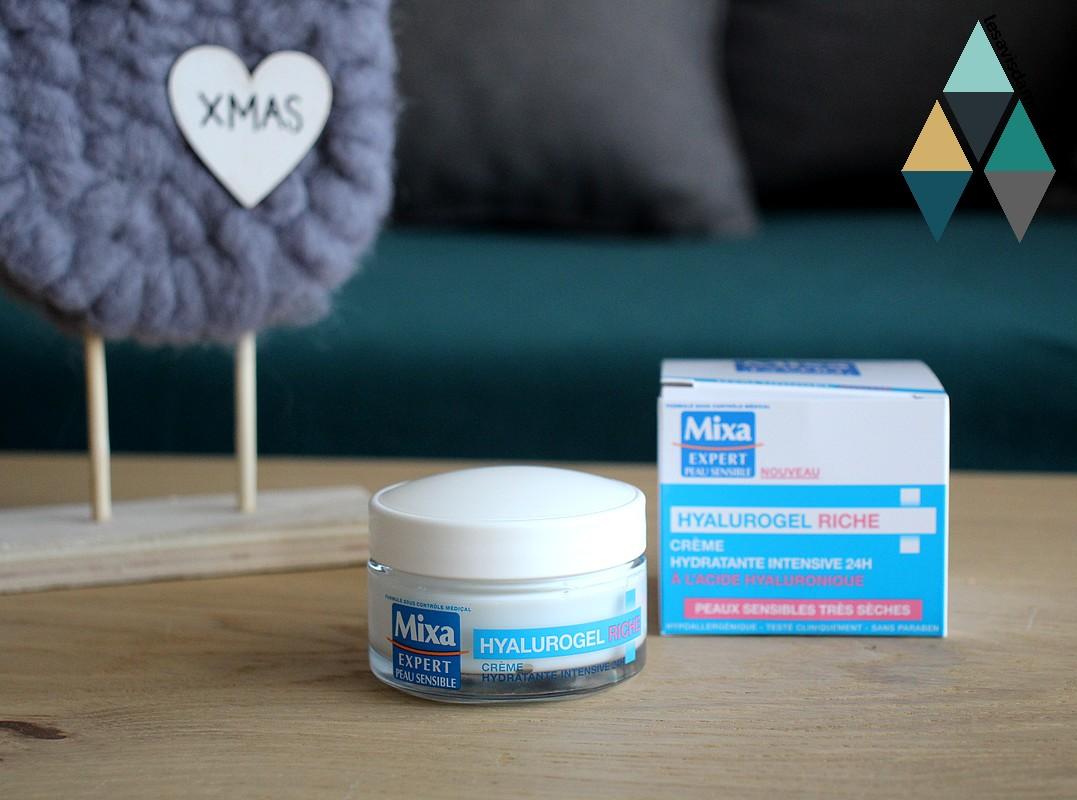 crème hydratation intense hyalurogel riche peau sensible